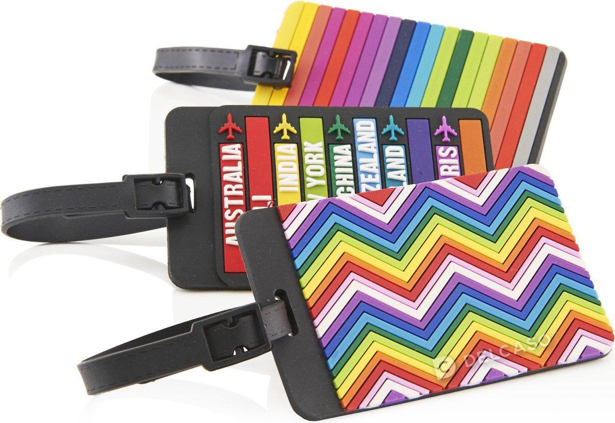 Identyfikator do bagażu Travelite mix kolorów