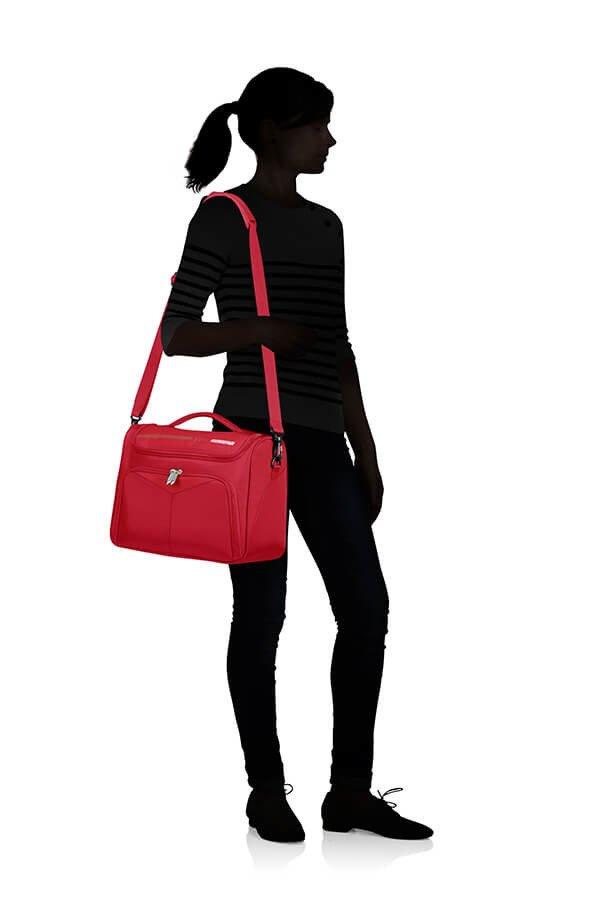 Kuferek na kosmetyki American Tourister Summerfunk czerwona
