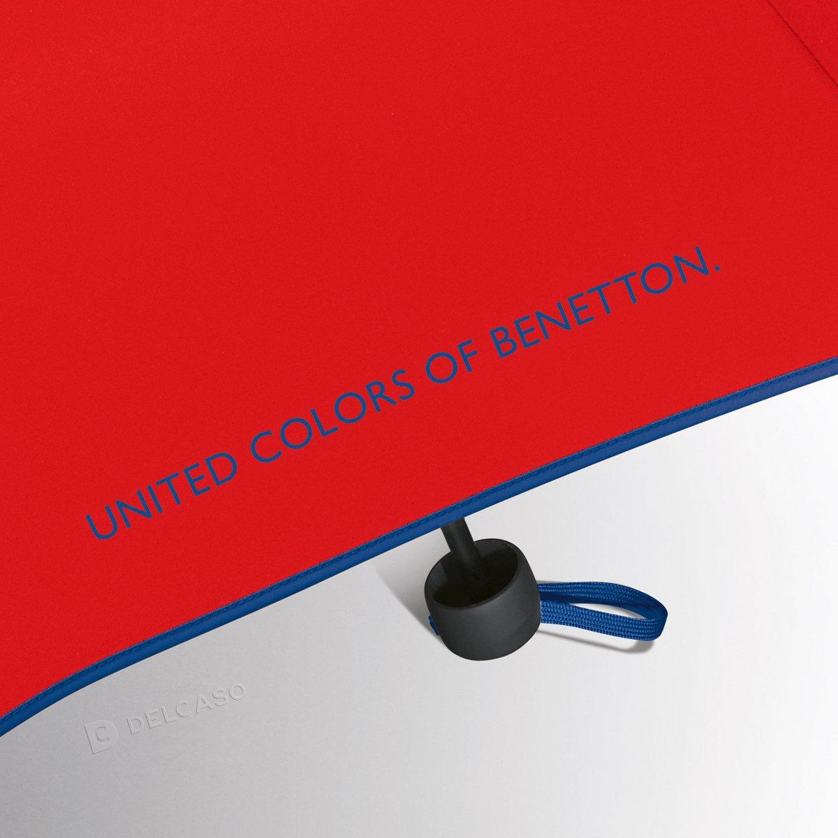 Parasol Benetton Super Mini czerwony