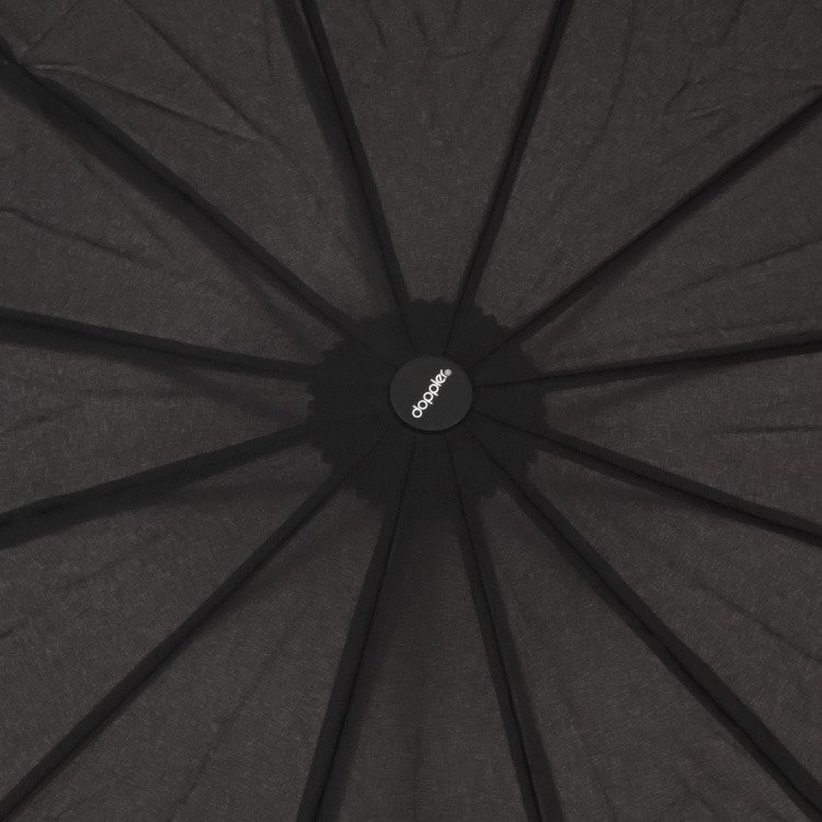 Parasol automatyczny Fiber Magic Major czarny
