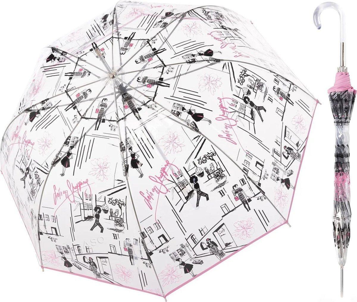 Parasol przeźroczysty Fiber Lang Doppler St. Tropez