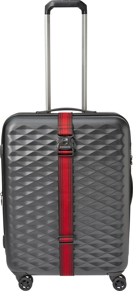 Pas do walizki Wenger czerwony
