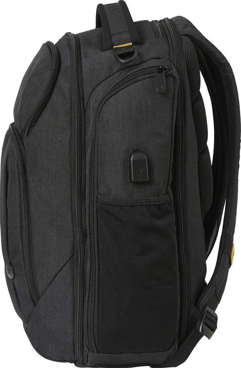 "Plecak CAT Caterpillar wielofunkcyjny, na laptopa do 15,6"" Hong Kong czarny"