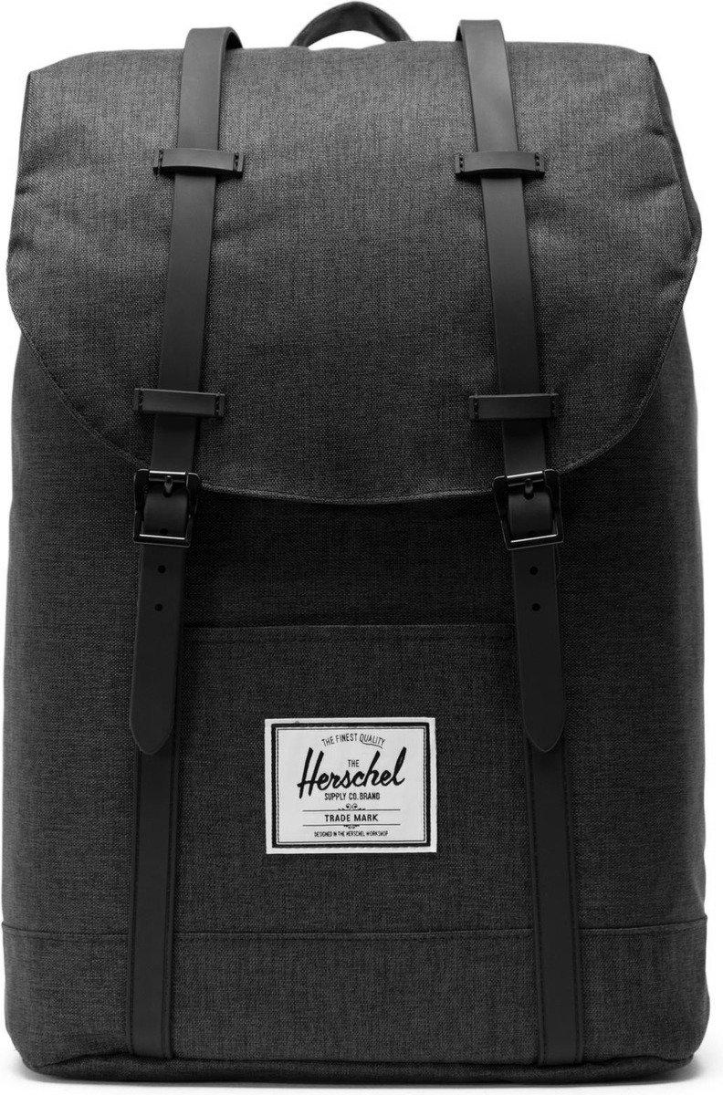 Plecak Herschel Retreat 19,5L Black Crosshatch