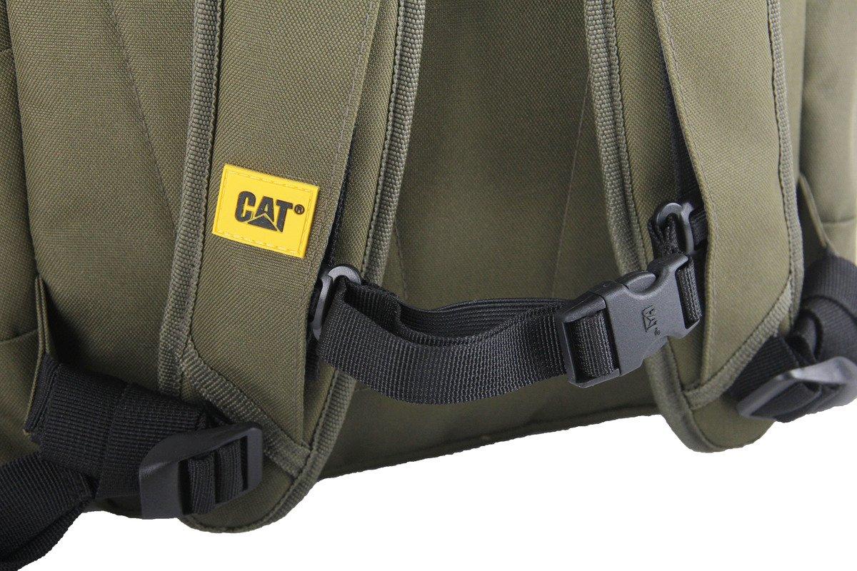 """Plecak na laptopa do 15,6"""" CAT Caterpillar The Project zielony"""