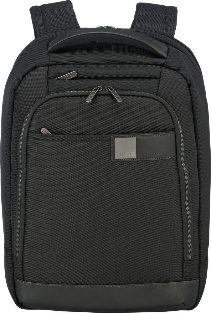 "Plecak na laptopa do 15,6"" Titan Power Pack Slim czarny"
