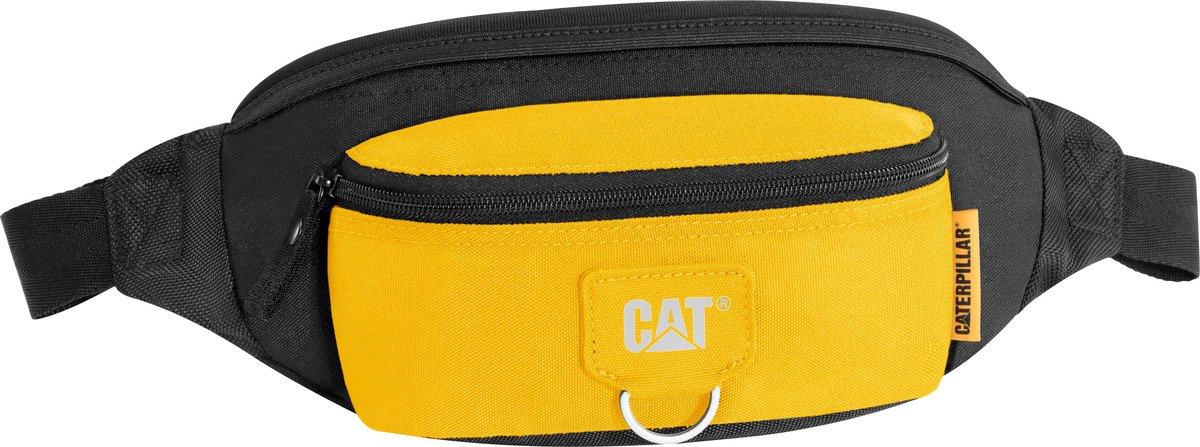 Saszetka biodrowa CAT Caterpillar Raymond czarno żółta