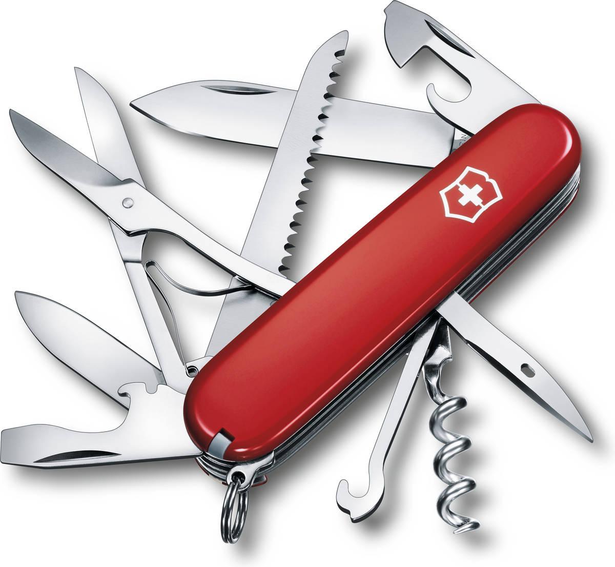 Scyzoryk Victorinox Huntsman czerwony 1.3713