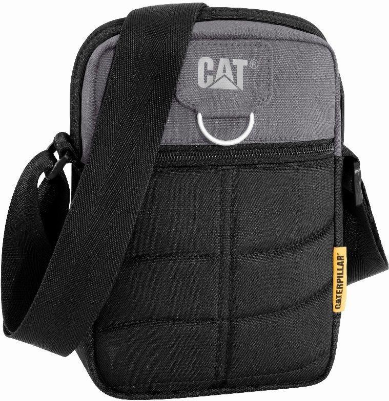 Torba Rodney CAT Caterpillar Millennial Classic czarno-szary