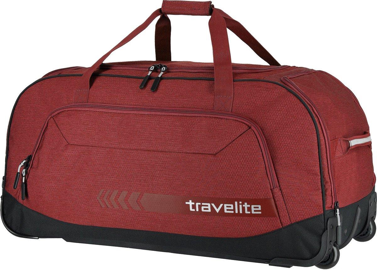Torba podróżna na kółkach Kick Off Travelite czerwona