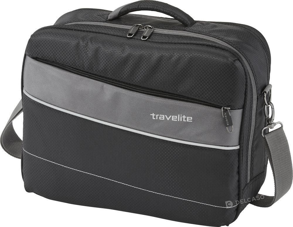Torba podróżna pokładowa Travelite Kite czarna