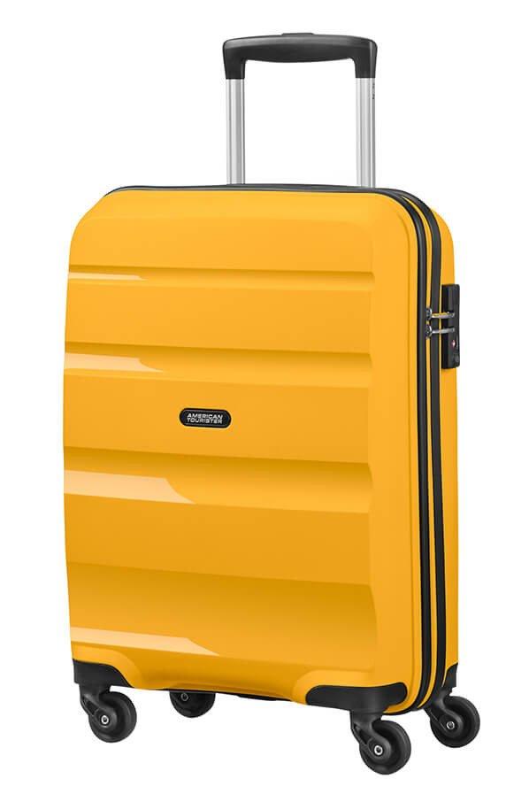 Walizka American Tourister Bon Air 55 cm żółta