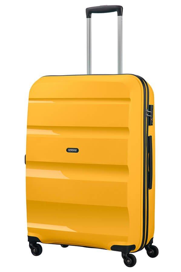 Walizka American Tourister Bon Air 75 cm żółta
