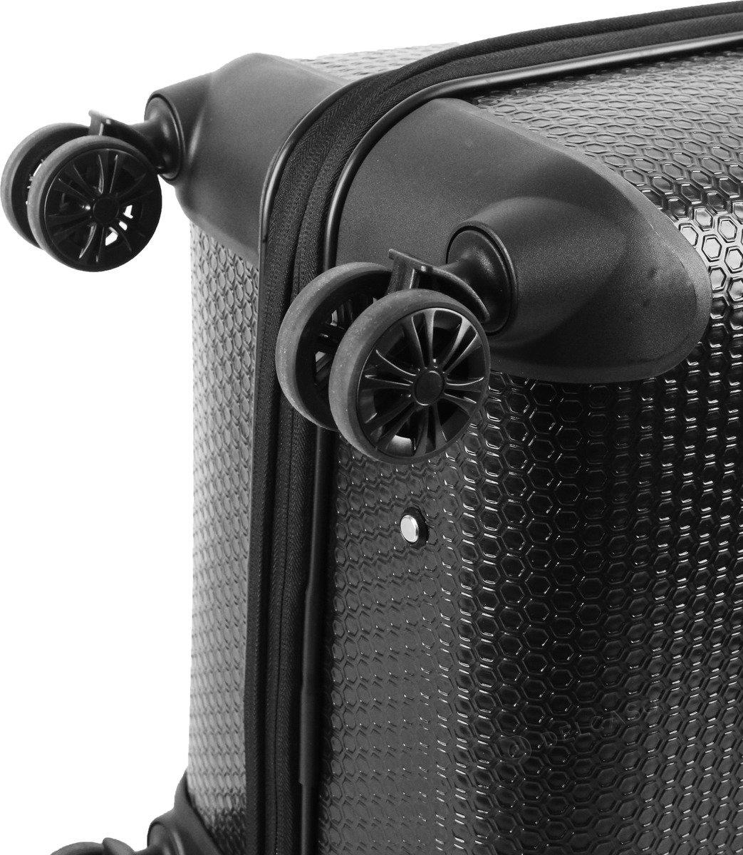 Walizka duża Cat Caterpillar Hexagon 76 cm czarna