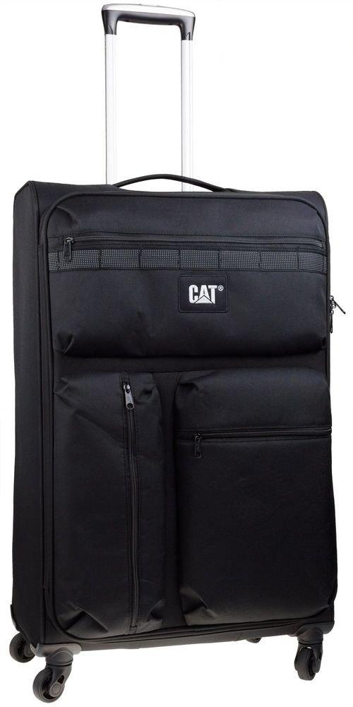 Walizka duża Cat Combat visiflash 79 cm czarna