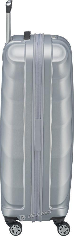 Walizka duża Titan Shooting Star 77 cm srebrna