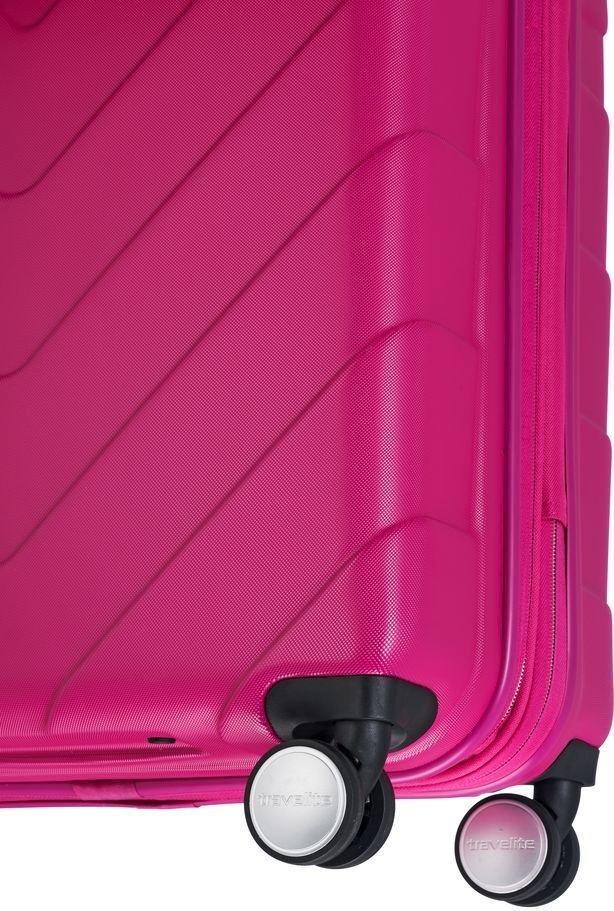 Walizka duża Travelite Kalisto 76 cm Różowa