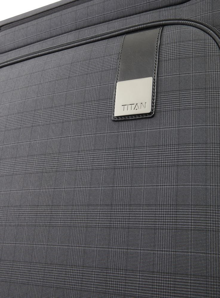 Walizka duża - poszerzana Titan CEO 78 cm antracytowa