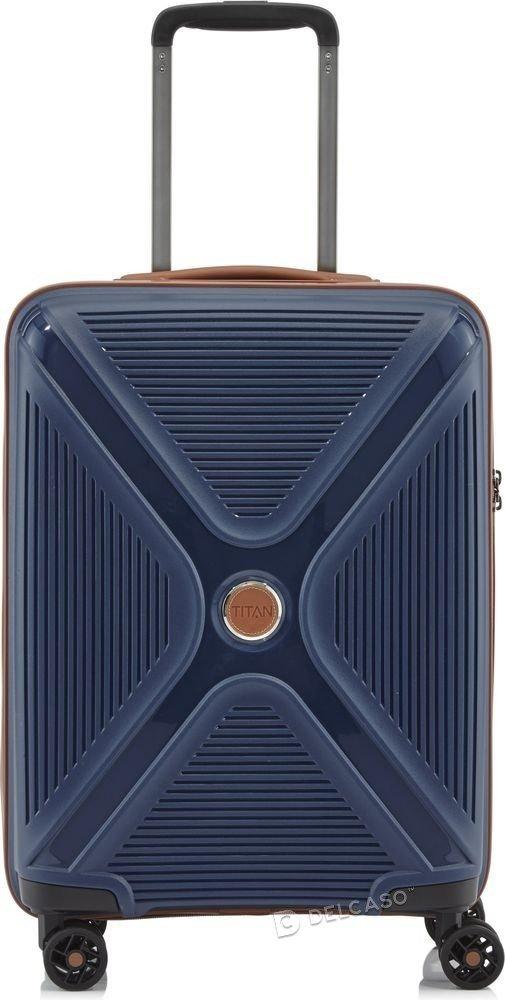 Walizka kabinowa Titan Paradoxx 55 cm mała niebieska