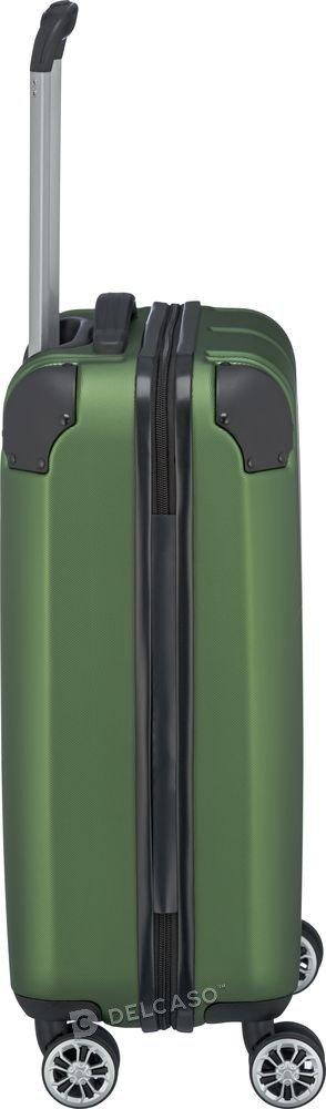Walizka kabinowa Travelite City 55 cm mała zielony