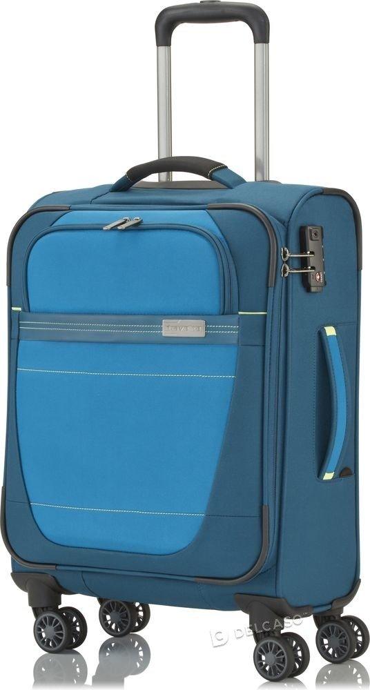Walizka kabinowa Travelite Meteor 55 cm mała niebieska