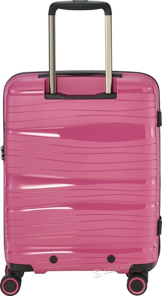 Walizka kabinowa Travelite Motion 55 cm mała różowa