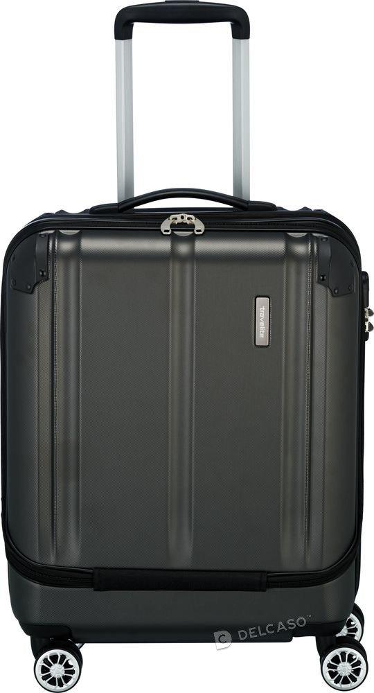 Walizka kabinowa biznesowa Travelite City 55 cm antracytowa