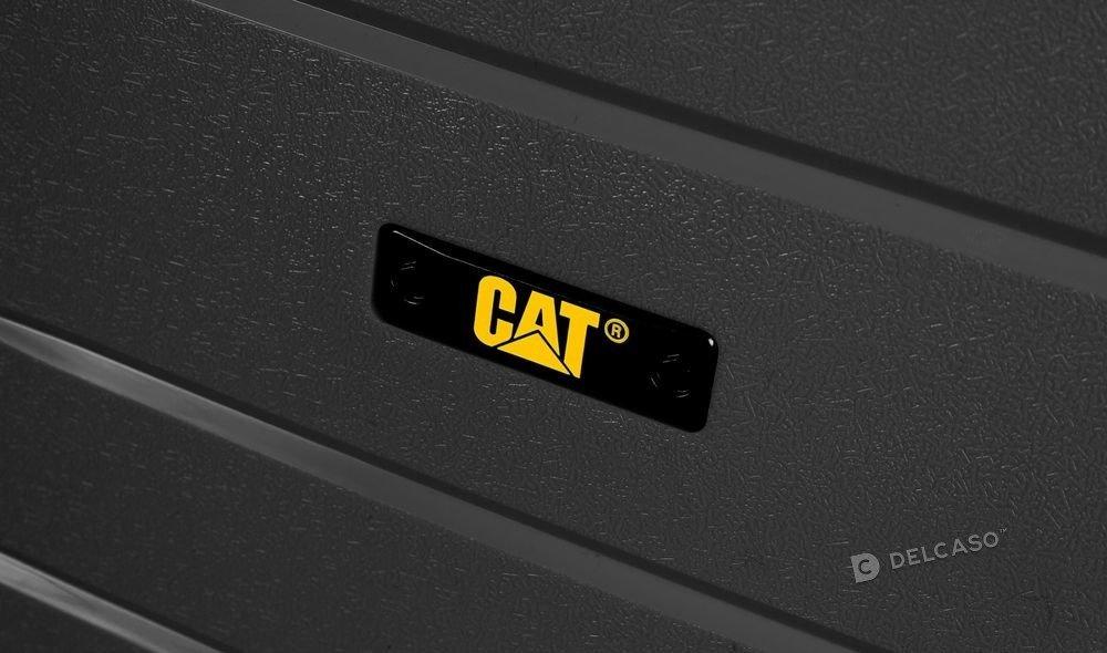 Walizka średnia Cat Caterpillar Crosscheck 67 cm czarna