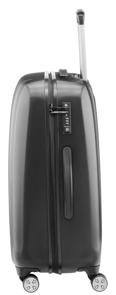 Walizka średnia Titan Xenon 67 cm czarna