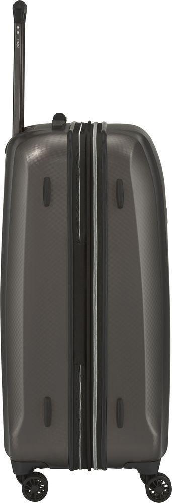 Walizka średnia - poszerzana Titan Xenon Deluxe 71 cm brązowa