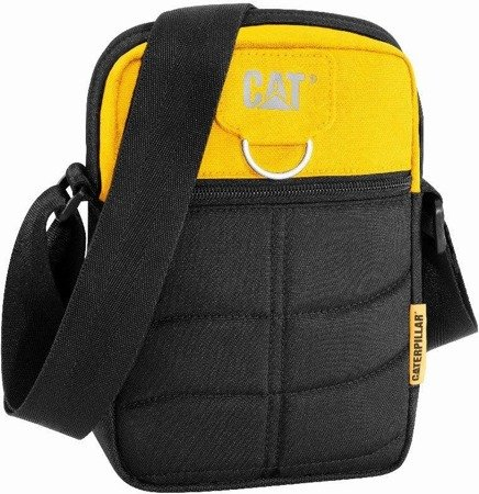 "Torba Rodney na tablet do 10"" CAT Caterpillar Millennial Classic czarno-żółty"