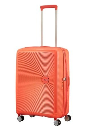 Walizka American Tourister Soundbox 67 cm powiększana czerwona