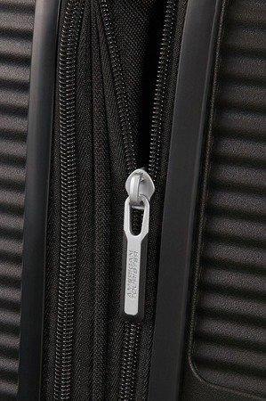 Walizka American Tourister Soundbox 77 cm powiększana czarna