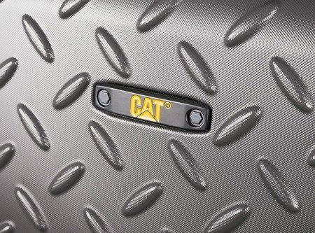 Walizka średnia Cat Industrial Plate 65 cm szara
