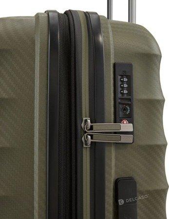 Walizka średnia - poszerzana Titan Highlight 67 cm khaki
