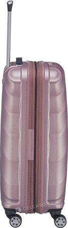 Walizka średnia - poszerzana Titan Shooting Star 66 cm różowa